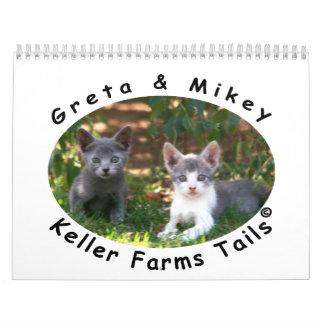 2014 Calendar from Keller Farms Tails