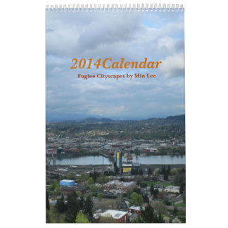 2014 Calendar   Fuglee Cityscapes by Min Lee   1Pg