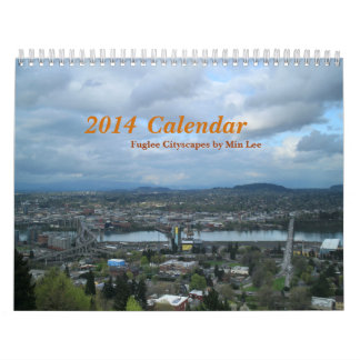 2014 Calendar   Fuglee Cityscapes by Min Lee   2Pg