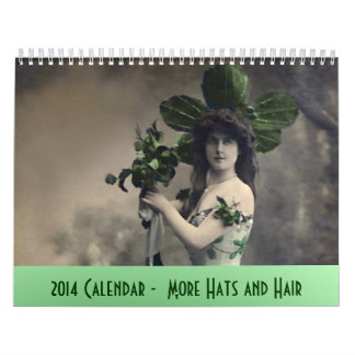 2014 Calendar More Hats and Hair
