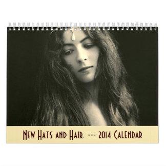 2014 Calendar - New Hats and Hair
