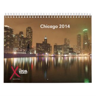 2014 Calendar of Chicago