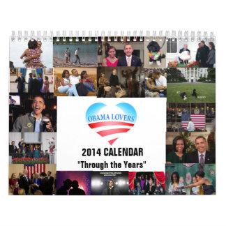 "2014 Calendar - ""Through the Years"""