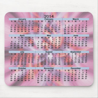 2014 Calendar Warm Breeze Mousepad