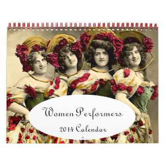 2014 Calendar -  Women of the Stage