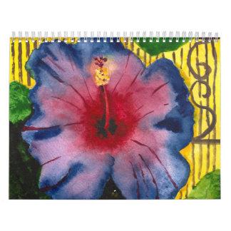 2014 calendario - arte original por Sixsisters