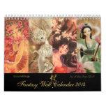 2014 calendario de la fantasía - arte de Mitzi Sat
