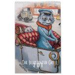 2014 calendario de los gatos del vintage - Louis W