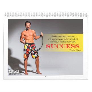 2014 calendarios de pared para siempre jovenes d