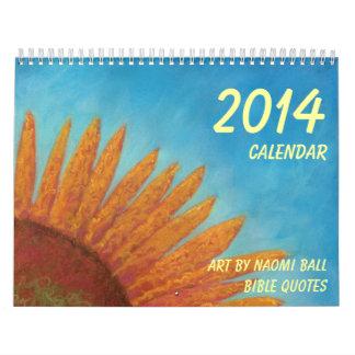 2014 Calender by Naomi Ball Calendar