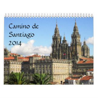 2014 Camino Calendar
