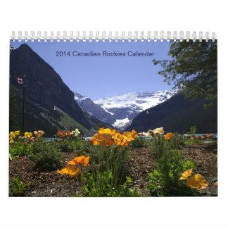 2014 Canadian Rockies Calendar
