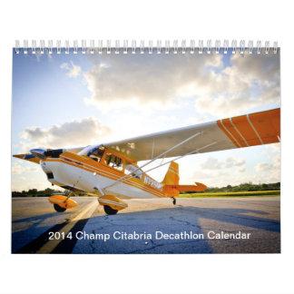 2014 Champ Citabria Decathlon Calendar