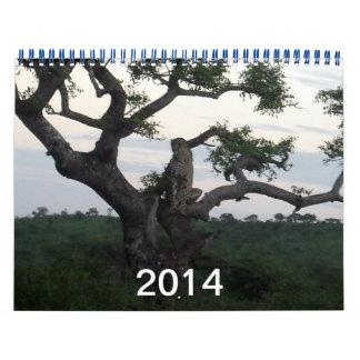 2014 Cheetah Calendar