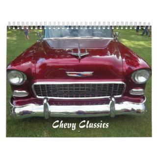 2014 Chevy Classics Calendar