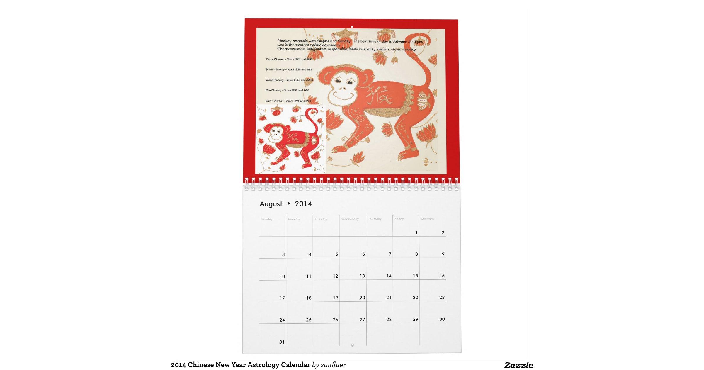 Year Calendar Jsf : Chinese new year astrology calendar