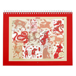 2014 Chinese New Year Astrology Calendar