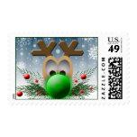 2014 Christmas Holiday Postage Stamp