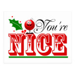 2014 Christmas Postcards Nice Or Naughty