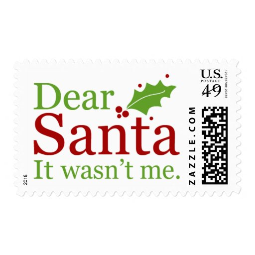 2014 Christmas Stamps { Letters To Santa }