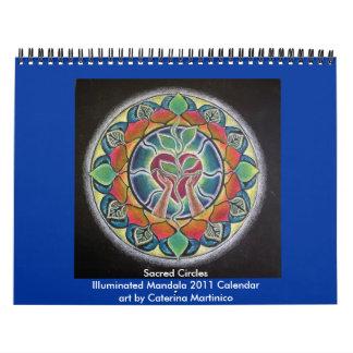 2014 círculos sagrados iluminaron la mandala 2013 calendario