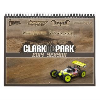 2014 Clark RC Park Calendar