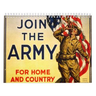 2014 Classic Army Recruiting Calendar