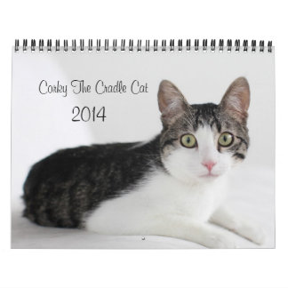 2014 Corky The Cradle Cat Calendar