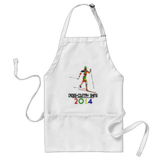2014: Cross-Country Skiing Adult Apron