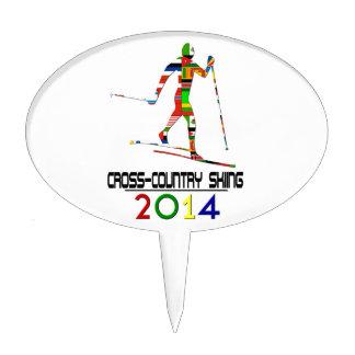 2014: Cross-Country Skiing Cake Picks