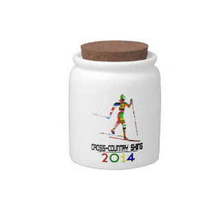 2014: Cross-Country Skiing Candy Jar