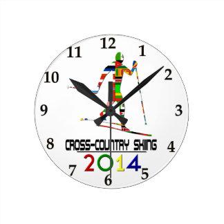 2014: Cross-Country Skiing Round Clock