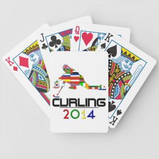 2014: Curling Bicycle Playing Cards