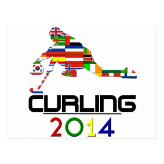 2014: Curling Postcard