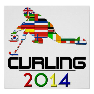 2014: Curling Poster