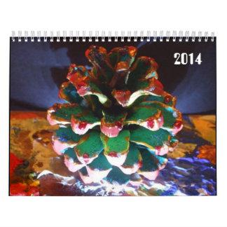 2014 Custom Printed Calendar by Raine Carosin