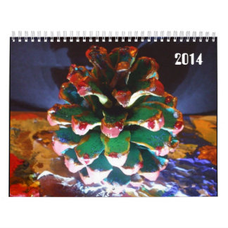 2014 Custom Printed Calendar by Raine Carosin