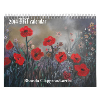 2014 Custom Printed ORIGINAL ART Calendar