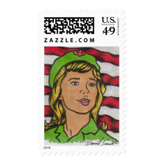 2014 D Smith SCOUTING Postage Stamp 14-010