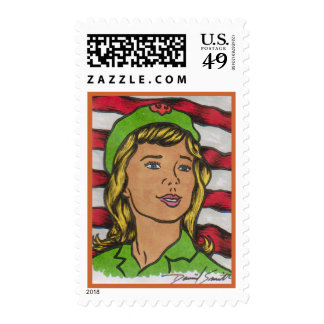 2014 D Smith SCOUTING Postage Stamp 14-010c