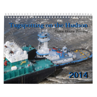 2014 Dann Ocean Towing: Tugspotting on the Hudson Wall Calendars