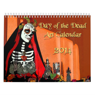 2014 Day of the Dead Art Calendar