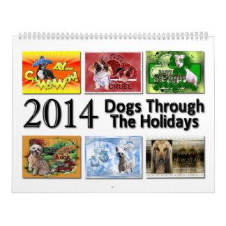 2014 Dogs Through the Holidays Calendar