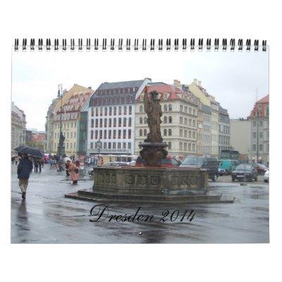 2014 Dresden Germany Travel Calendar