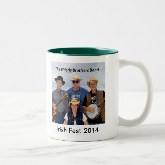 2014 Elderly Brothers Band Commemorative Mug
