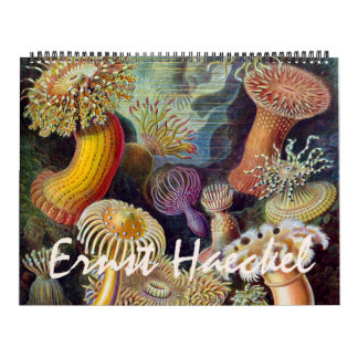 2014 Ernst Haeckel Art Biology and Botany Wall Calendars