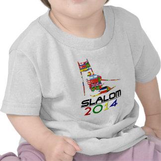 2014 Eslalom Camisetas