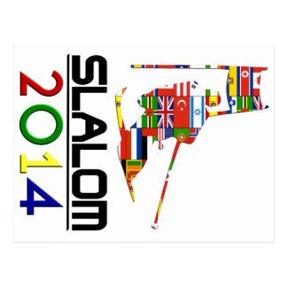 2014: Eslalom Postal