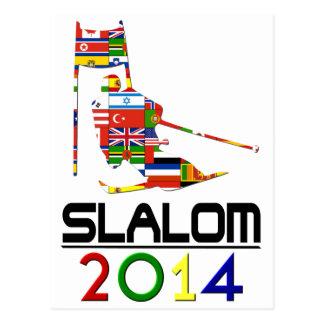 2014: Eslalom Tarjetas Postales