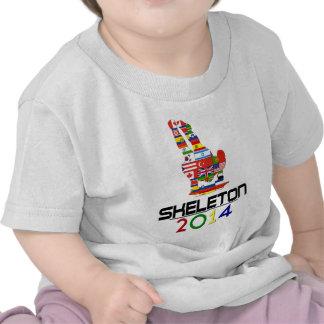 2014 Esqueleto Camiseta